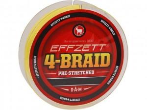 Шнур DAM Effzett 4-Braid 125 м 0.25 мм 11.3 кг Темно-зеленый (52682)