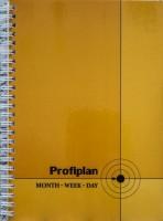 Блокнот ProfiPlan недатированный на пружине (Оранж)