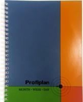Блокнот ProfiPlan недатированный на пружине (Цветной)