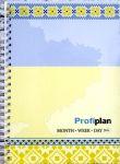 Блокнот ProfiPlan недатированный на пружине (Украина)