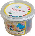 Набор для детской лепки 'Тесто-пластилин 15 цветов'