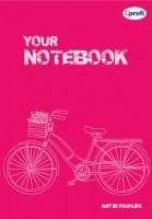 Творческий блокнот 'Artbook', pink