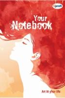 Творческий блокнот 'Artbook', rouge