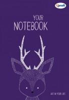 Творческий блокнот 'Artbook', violet