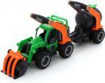 ГрипТрак, трактор-погрузчик с цистерной (в коробке)