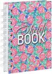 Книга Скетчбук 'Орнамент из роз' (А6)