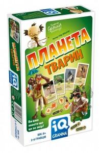 Настольная игра Granna 'IQ Планета животных' (82777)