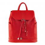 Кожаный рюкзак BlankNote 'Олсен' Рубин (BN-BAG-13-rubin)