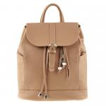 Кожаный рюкзак BlankNote 'Олсен' Крем-брюле (BN-BAG-13-crem-brule)