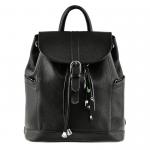 Кожаный рюкзак BlankNote 'Олсен' Оникс (BN-BAG-13-onyx)
