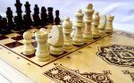 фото Нарды+шашки+шахматы (3 в 1) дерево (40х40 см) (NS-2013) #6