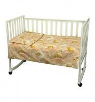 Детское постельное белье ТМ РУНО 60*120 (960У_(Персиковий) солодкий сон)
