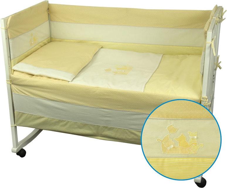 Купить Детское постельное белье ТМ РУНО 60*120 (977Кошенята_Жовтий)
