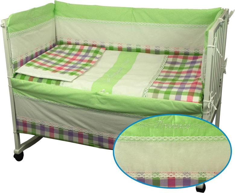 Купить Детское постельное белье ТМ РУНО 60*120 (977Прованс)