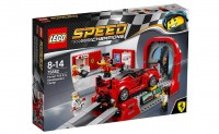 Конструктор LEGO Speed Champions 2016 'Ferrari FXX K и Центр разработки и проектирования' (75882)