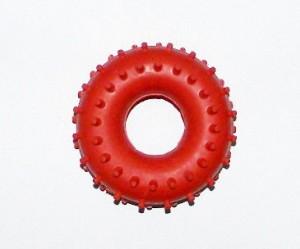Эспандер кистевой (Взрослый с шипами)  усилие 30 кг (резина, красный) (OnhillSport) (SP-0512-1)
