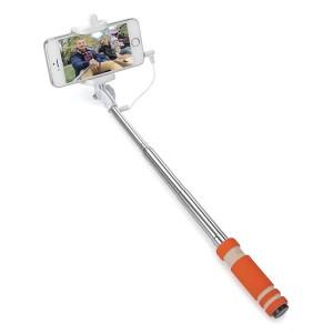 Подарок Монопод для селфи со шнуром Compact Orange