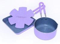 Набор PETITE Fissman (ковш 12x6 см / 0,67 л,квадратная сковорода 14x3 см) (AL-4867.1214)
