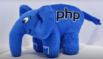 Подарок PHP Слон (Синий)