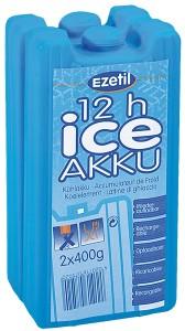 Аккумулятор холода Ezetil Ice Akku 2х400 г (4000810130726)