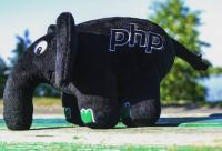 Подарок PHP Слон (Черный)