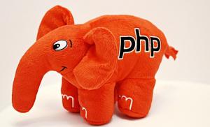 Подарок PHP Слон (Красный)