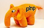 Подарок PHP Слон (Оранжевый)