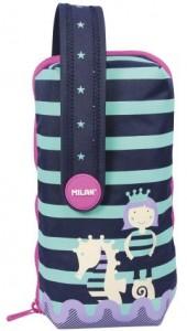 Мультипенал с наполнением Milan `серия SEA CLUB Blue Pink` (ml.08872AC2PA)