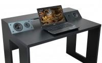 Компьютерный стол со встроенной акустической системой VidLine Black