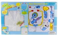 Игровой набор `Доктор`  с халатом  (9911BC)