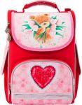 Рюкзак школьный каркасный (ранец) 501 'Popcorn Bear-2' (PO17-501S-2)