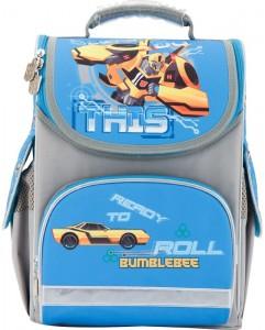 Рюкзак школьный каркасный (ранец) 501 'Transformers-2' (TF17-501S-2)
