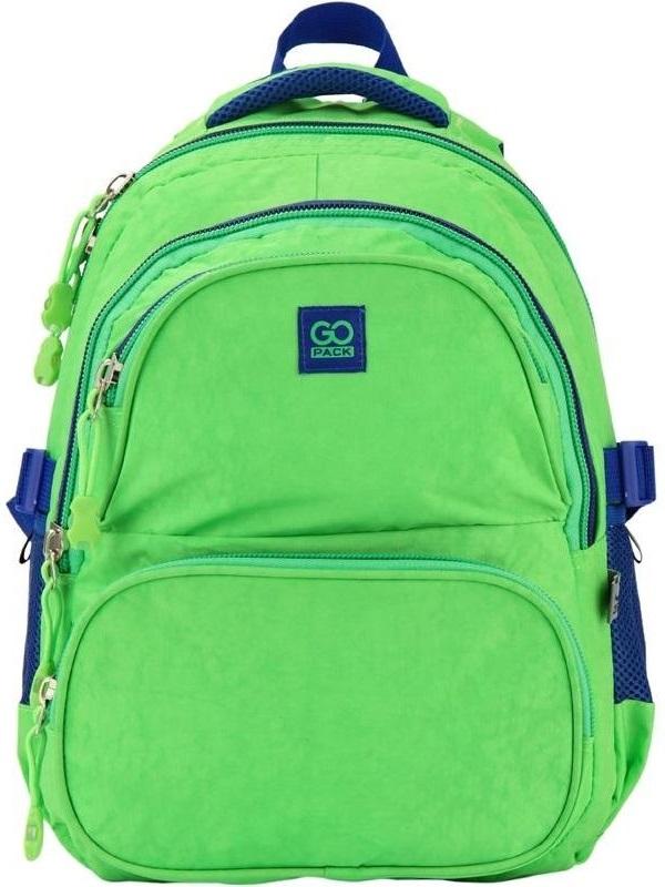 Купить Рюкзак школьный GoPack 100 GО-2, зеленый (GO17-100M-2)