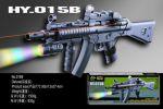 Автомат `лазер.прицел, пульки, фонарик` (HY015B)