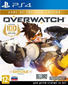 игра Overwatch: Game of the Year Edition PS4
