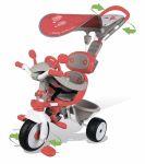 Детский металлический велосипед Smoby 'Вояж' с козырьком, багажником и сумкой (434208)