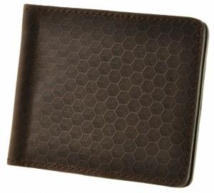 Подарок Портмоне BlankNote 1.0 'Карбон' Орех (зажим для денег) (BN-PM-1-o-karbon)