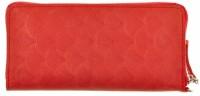 Подарок Портмоне на молнии BlankNote 6.0 Коралл (BN-PM-6-coral-volna)