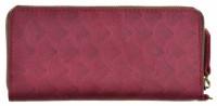 Подарок Портмоне на молнии BlankNote 6.0 Виноград (BN-PM-6-vin-volna)