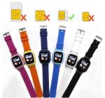 фото Детские умные часы с GPS трекером TD-02 (Q100) Blue #2