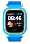 Детские умные часы с GPS трекером Smart Baby Watch TD-02 (Q100) Blue