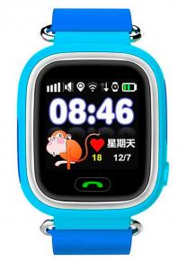 Детские умные часы с GPS трекером TD-02 (Q100) Blue