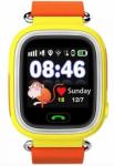 Детские умные часы с GPS трекером Smart Baby Watch TD-02 (Q100) Orange