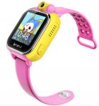 Детские умные часы с GPS трекером TD-07 (Q20) Pink