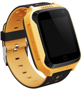 фото Детские умные часы с GPS трекером G900A (Q65) Yellow #2