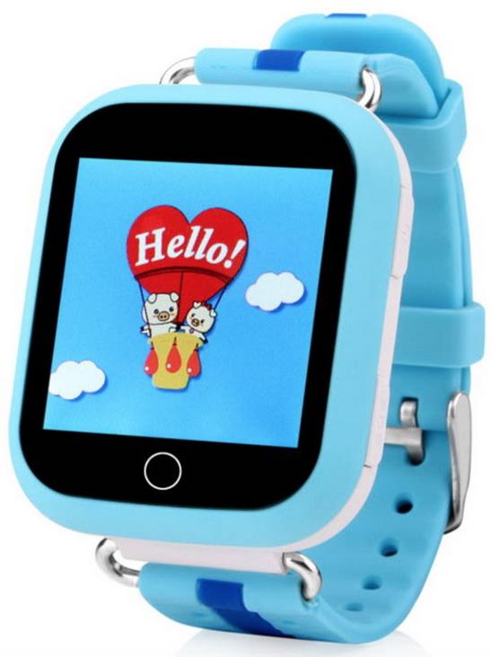 Купить Детские умные часы с GPS трекером TD-10 (Q150) Blue, Motto