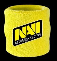 Подарок Напульсник Na'Vi Wrist Sweatband 2017 Yellow