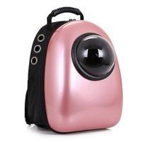 Рюкзак-переноска для животных CosmoPet с иллюминатором, перламутровый
