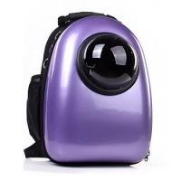 Рюкзак-переноска для животных CosmoPet с иллюминатором, фиолетовый перламутр