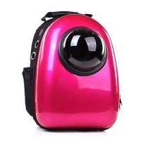 Рюкзак-переноска для животных CosmoPet с иллюминатором, малиновый перламутр